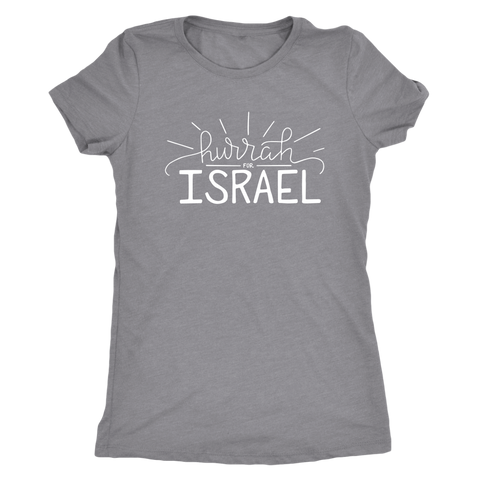 Image of Hurrah for Israel Women's Vintage T-Shirt (Super Soft, 10 Colors)