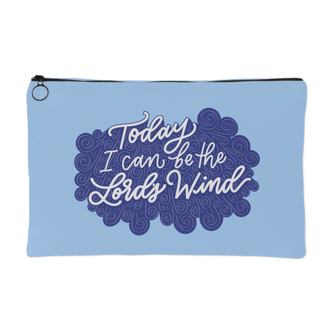 Lord's Wind Travel Pouch (Blue)