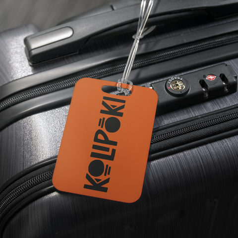 Kolipoki Luggage Tag (Orange)