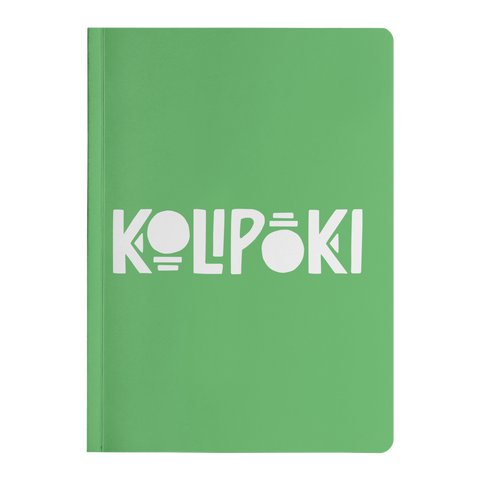 Kolipoki Paperback Journal (Green)