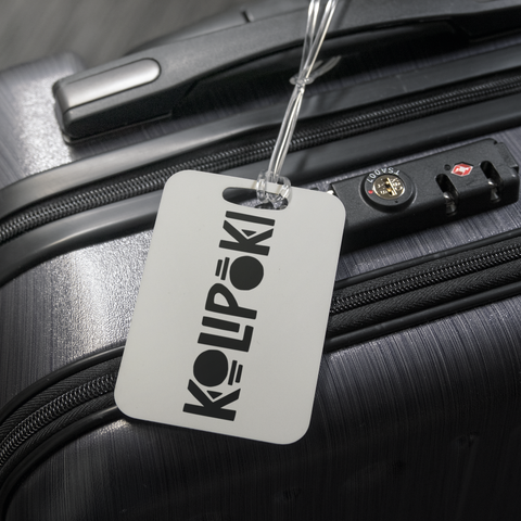 Kolipoki Luggage Tag (White)