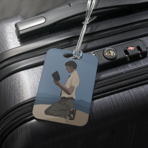 """Gift of Kolipoki"" Fan Art Luggage Tag"