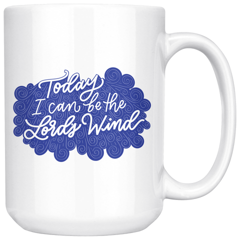 Image of Lord's Wind Large Mugs (2 Colors)