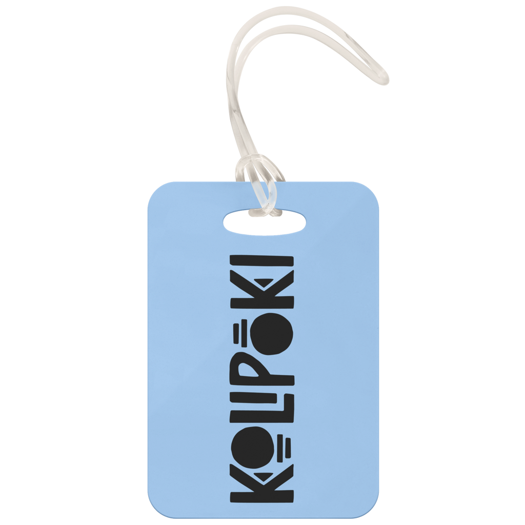 Kolipoki Luggage Tag (Blue)