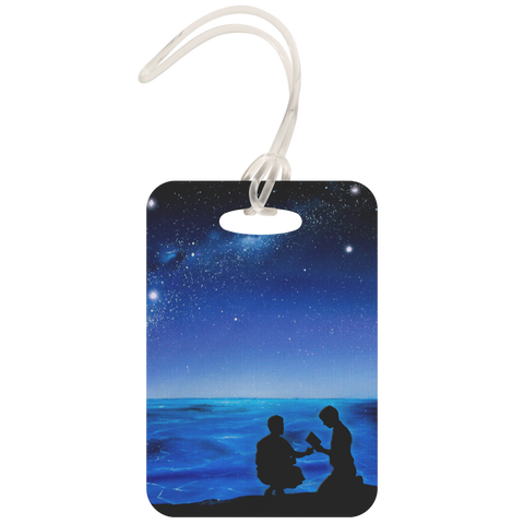 """Fekumi"" (Tongan for ""Searching"") Fan Art Luggage Tag"
