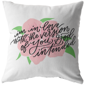 God Intended Pillow (& Pillow Cover)