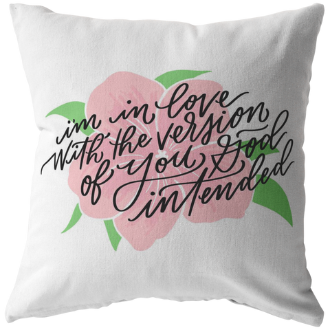 Image of God Intended Pillow (& Pillow Cover)
