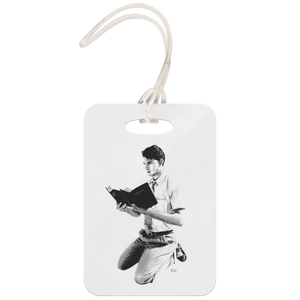 """Gift of Tongues"" Fan Art Luggage Tag"