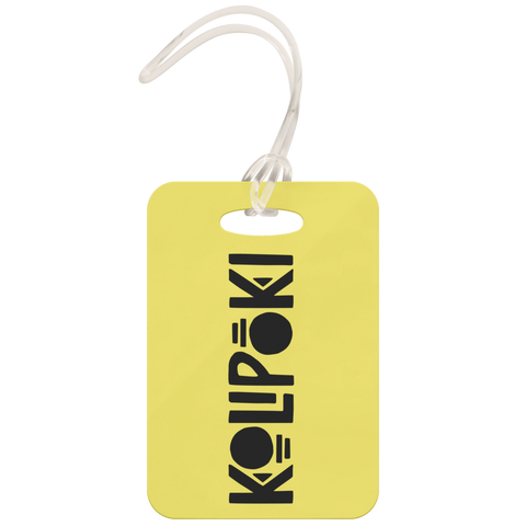 Image of Kolipoki Luggage Tag (Yellow)