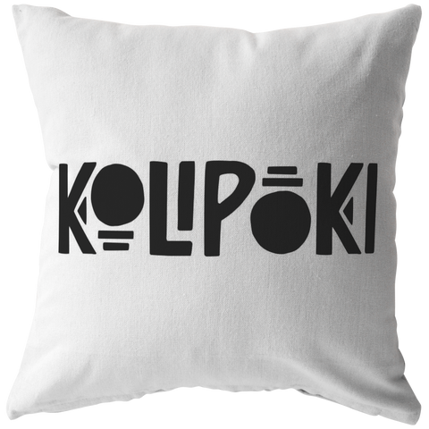 Kolipoki Pillow (& Pillow Cover)