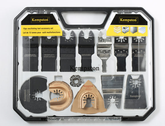 88121 Oscillating Tool Accessory Set 15pcs