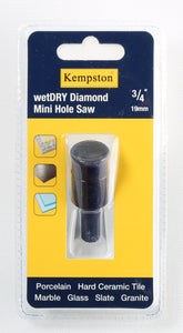 88000  Wetdry Diamond Mini Hole Saw 3/4""