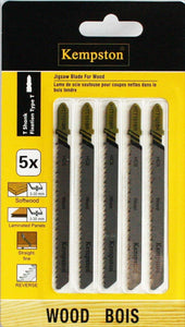88046  Reverse Pitch T-Shank Jigsaw Blade HTT101BR 5pc