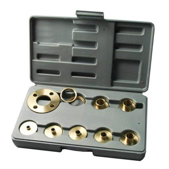 99000 10 pcs Solid Brass Template Guide Kit With Adapter