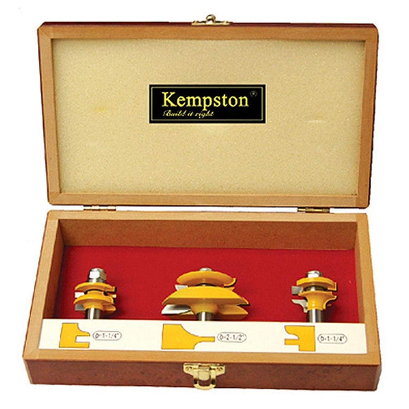 KC5033  3-Piece Miniature Raised Panel Set - Traditional Ogee Style