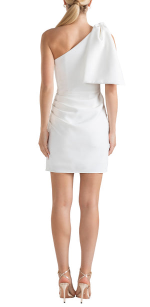 Lagoon Floral Ruffled Hem Mini Dress