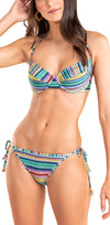 Parade Stripe Bra Halter Top