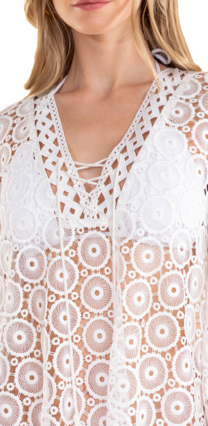 Vista Lace Breeze Caftan