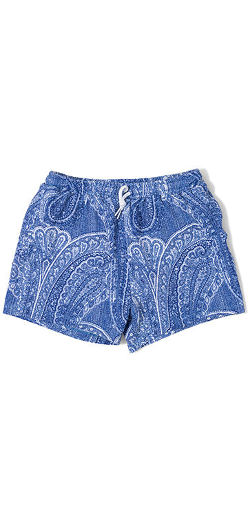 Bandana Paisley Boy's Swim Trunks