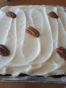 8x8 Carrot Cake with Cream Cheese Frosting