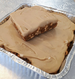 8x8 Pan of Peanut Butter Sweet Marie Bars