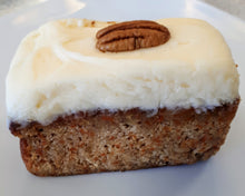 Load image into Gallery viewer, 8x8 Carrot Cake with Cream Cheese Frosting