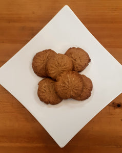 6 Ginger Molasses Cookies