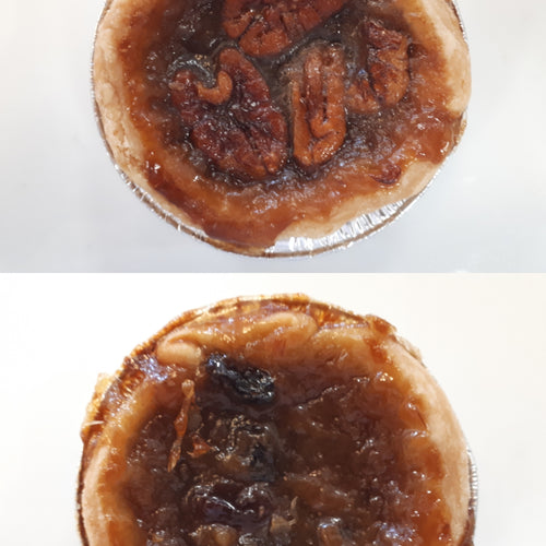 Pecan Butter Tart and Raisin Butter Tart Mix and Match Dozen