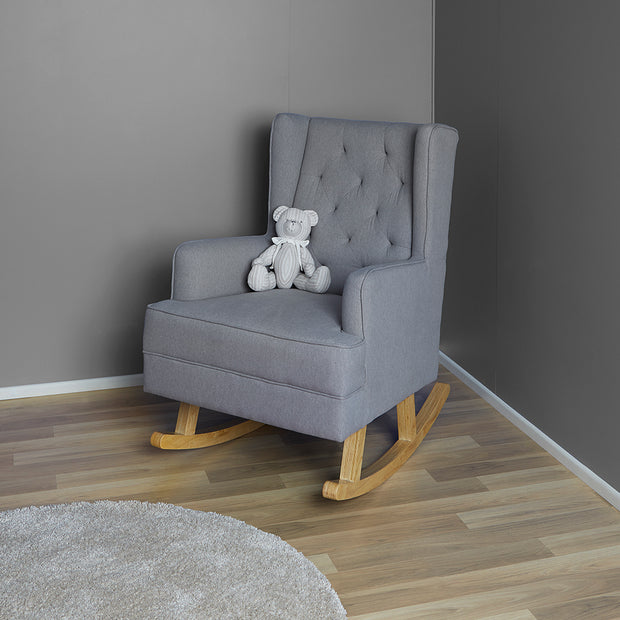 Regency Chair & Rocker - Heather Grey