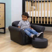 Kids Rocking Chair and Ottoman