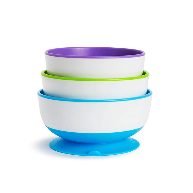 Stay Put™ Suction Bowl 3 Pack