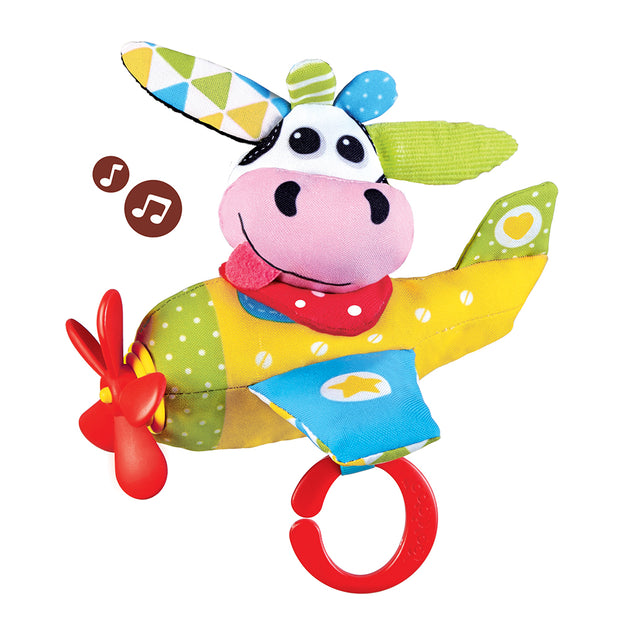 Tap 'N' Play Musical Plane - Cow
