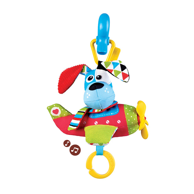 Tap 'N' Play Musical Plane - Dog