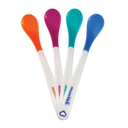 White Hot Infant Spoons - 4pk