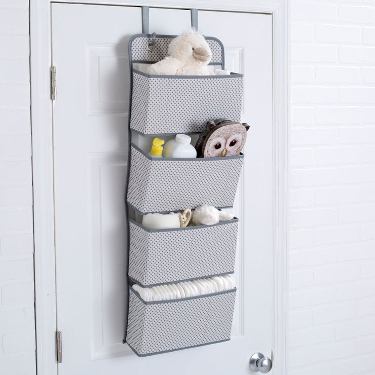 4 Pocket Hanging Wall Organiser