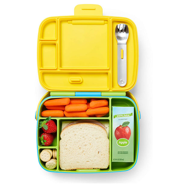 Lunch Bento Box with Stainless Steel Utensils