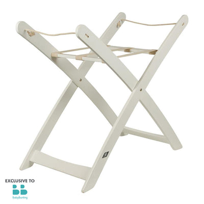 Moses Basket Stand – White