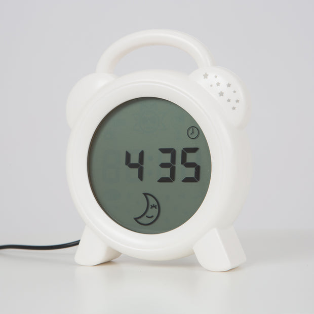 Snoozee Sleep Trainer & Clock - White