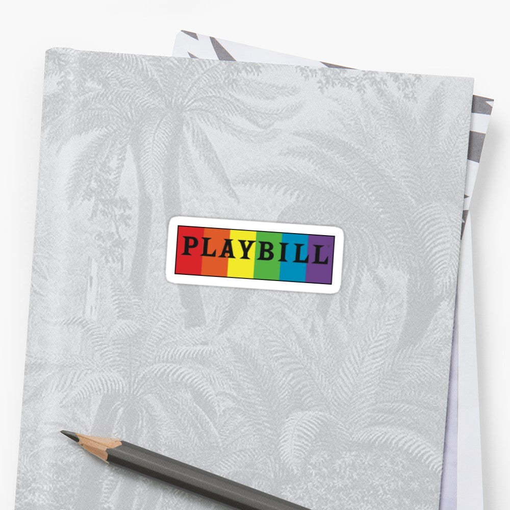 Pride Playbill Stickers