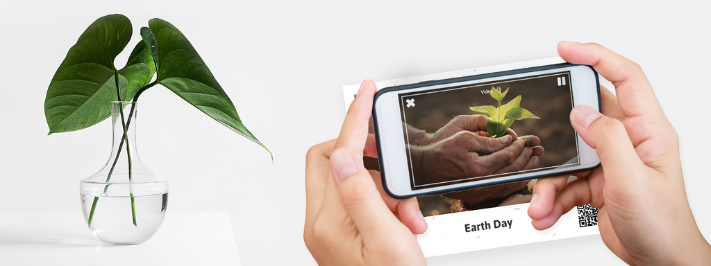 Plantable AR Video Printed Products.