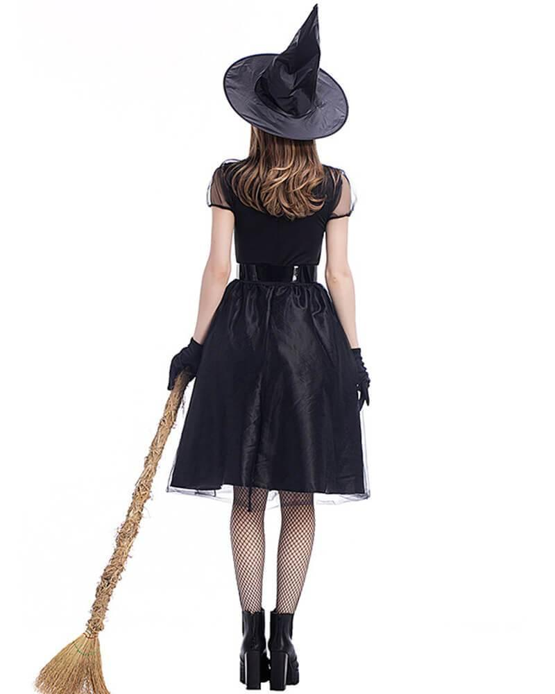 Classic Dark Spellcaster Witch Adult Womens Halloween Costume