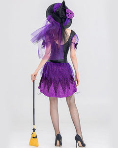 Deluxe Sassy Witch Adult Halloween Costume