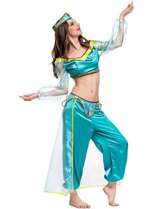 Princess Jasmine Aladdin Adult Halloween Dance Costume