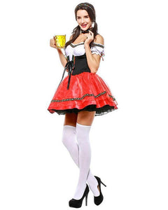 Adult German Beer Girl Maid Trudi Womens Halloween Costume