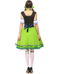 Adult Oktoberfest Gretchen Beer Girl Halloween Costume