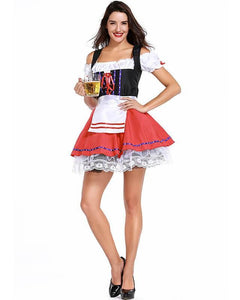 Sassy German Beer Girl Maid Adult Womens Costume