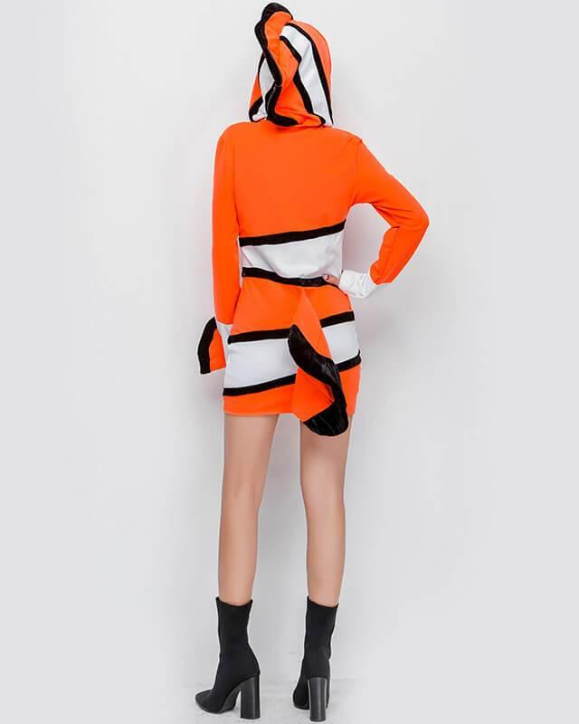 Nemo Clownfish Dress Adult Womens Halloween Costume