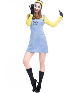 Cute Adult Minion Womens Halloween Costume