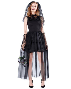 Black Ghost Adult Womens Halloween Costume