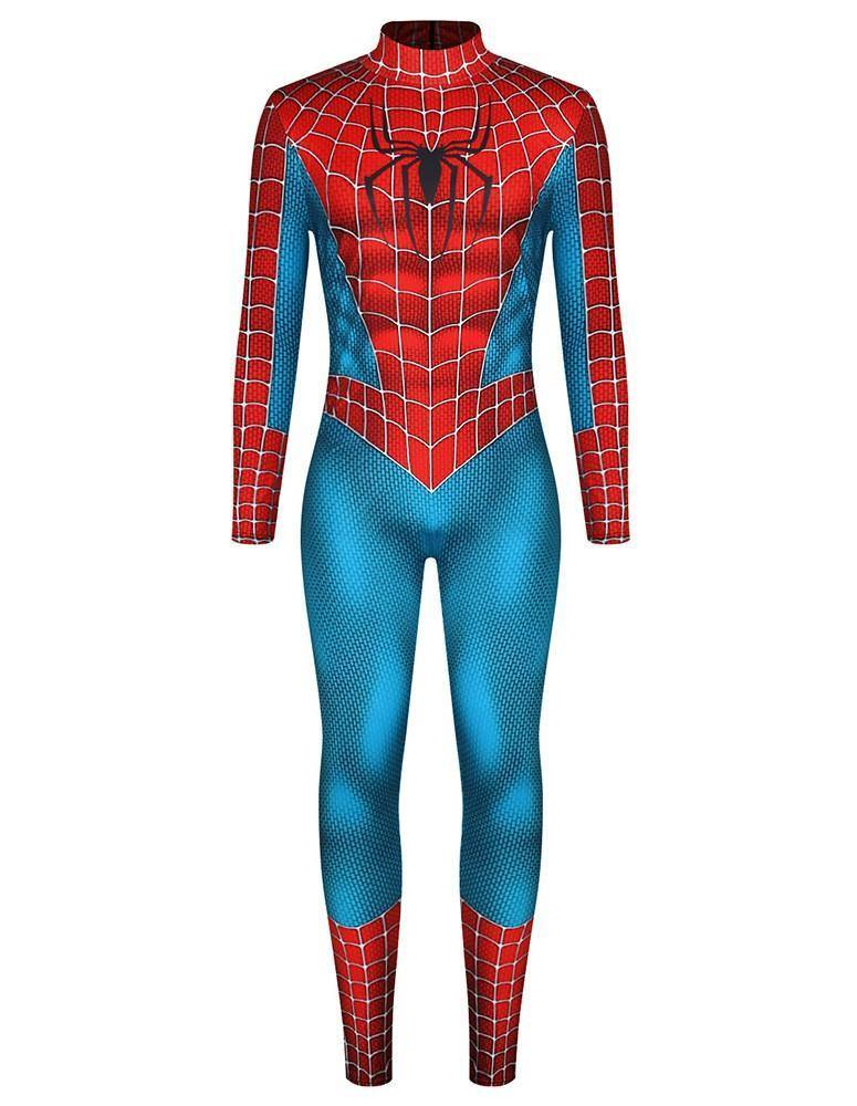 Spider Man Cosplay Spider-Man 3 Costume Mens Jumpsuit Costume - pinkfad